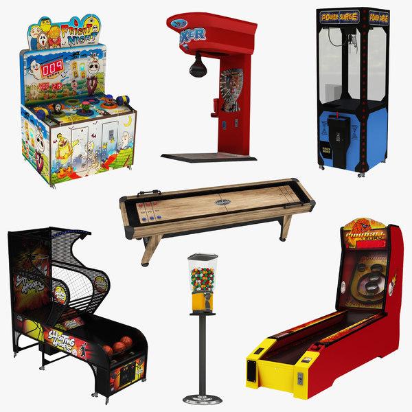 arcade games 7 1 model