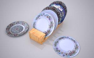 3D dish model