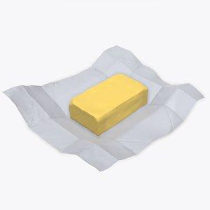 butter paper 3D model