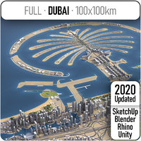 3D model dubai uae