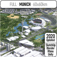 Munich - city and surrounding area