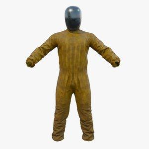 ecologist costume 3D model