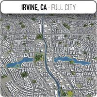 irvine surrounding - model