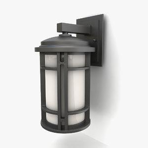 outdoor wall lantern 19 3D model