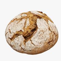 loaf bread 4 model