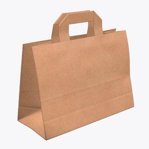 bag handle paper 3D
