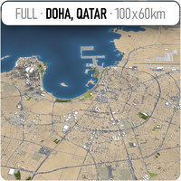 Doha, Qatar - Full City and Suburbs Collection