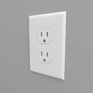 simple outlet 3D