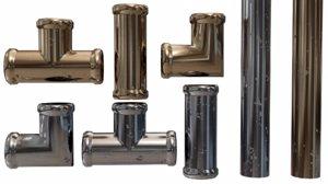 fittings copper steel 3D model