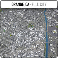 orange surrounding - 3D model