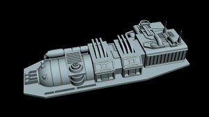 3D starship