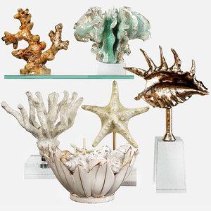 decorative set 63 3D model