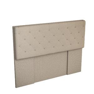 bed headboard 3D