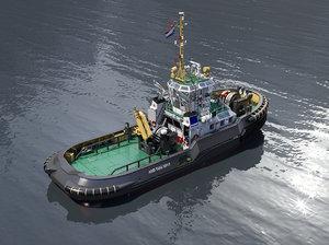 3D harbour tug asd 2810