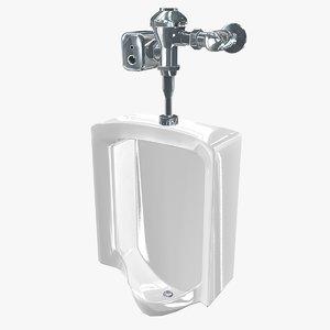 urinal asset 3D