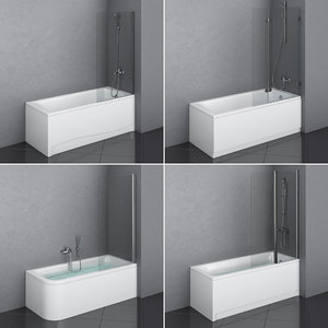 ideal set 82 bath 3D model