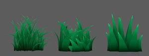 grass toon model