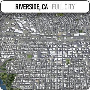 riverside surrounding - model