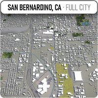 san bernardino surrounding - model