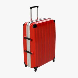 3d model of suitcase 01
