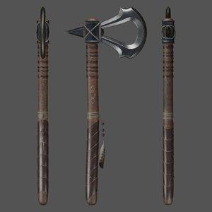 assassin tomahawk 3D model