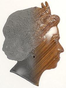 relief elizabeth ii 3D model