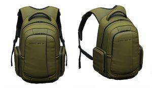 3D luggage nylon leather