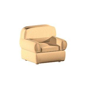 pouf sofa 3d model