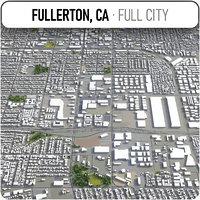 3D fullerton surrounding - model
