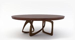 3D hudson table bangle model