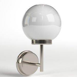 3D applique outdoor lamp model
