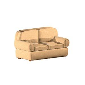 double sofa materials 3d max