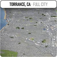 torrance surrounding - 3D model