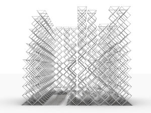 3D parametric pavilion