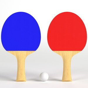 set ping pong paddles model