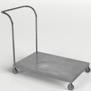 3D platform trolley cart 1