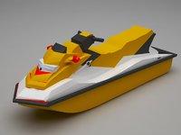 3D jetski