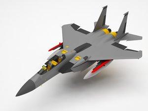 fighter f 3D model