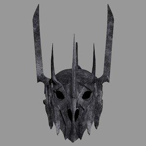 sauron helmet model
