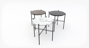 gubi ts coffee table 3D model