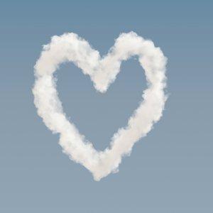 heart cloud 02 - 3D
