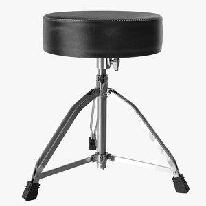 3D drumhocker seat
