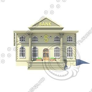 3D building bank
