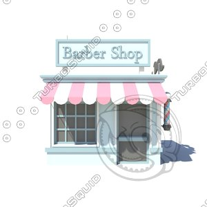 3D barber model
