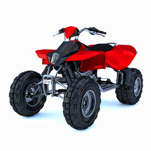 mountain atv red model
