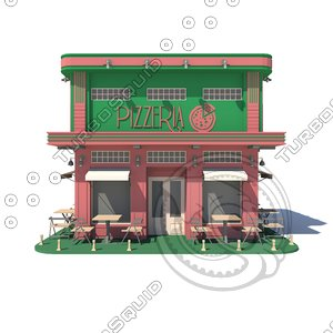 pizzeria 01 model