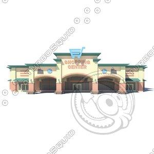 3D market supermarket