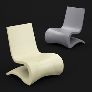 chair design lounge 3D