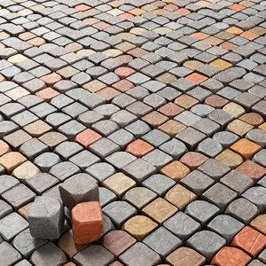 3D stone decor granite