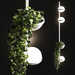 palma 3718 wall lamp 3D model